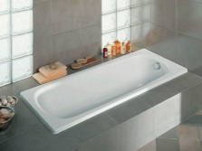 Габариты чугунных ванн