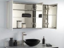 Материалы зеркала-шкафа для ванной