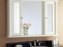 Материалы для изготовления зеркало-шкафа в ванную