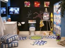 Дизайн ковриков в ванной комнате для детей