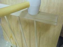 Мобильная самодельная сушилка для белья