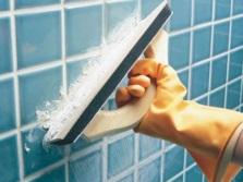 Затирка для однотонной плитки в ванной