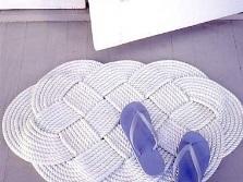 вязаный коврик крючком схемы ажурных узоров