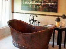 Металлические отдельностоящие ванны