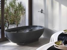 Отдельностоящие ванны из камня