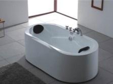 Смеситель на бортик для отдельностоящей ванны