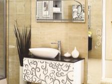 Пенал с зеркалом в ванную комнату