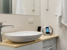 Столешницы с накладным умывальником в ванной