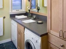 Столешница со встроенной раковиной для ванной