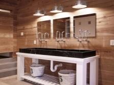 Дизайн светильников для зеркала в ванной