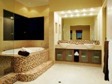 светодиодные точечные в ванной