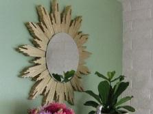 Как повесить зеркало в ванной сделанное своими руками