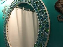 Советы по установке зеркала с деланного своими руками в ванной