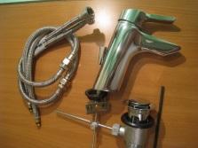 Монтаж донного клапана на раковину