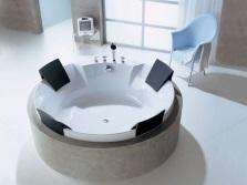 Выбор места для установки круглой ванны