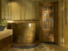 Куда установить круглую ванну в ванной комнате