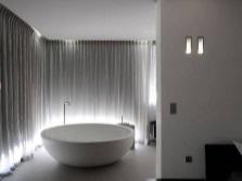 Место для установки круглой ванны