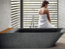 Форма чаши квадратной ванны