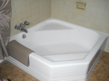 Форма квадратной ванны