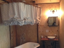Занавеска для ванны из текстиля