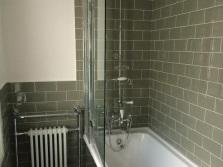 Шторка для ванны из стекла