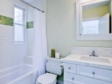 Полиэтиленовая белая занавеска на ванну - отзывы