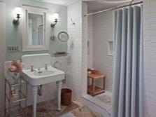 Тканевые шторы в ванной - отзывы