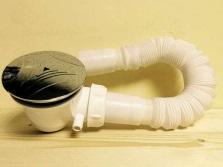 Автоматическая система слива сифона для душевого поддона