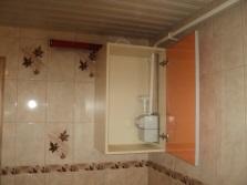 Короб-шкаф в ванной комнате