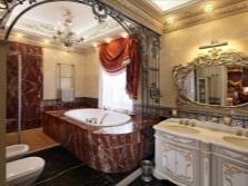 Ванна в ванной в стиле барокко