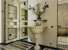 Ванная в стиле арт-деко и её особенности