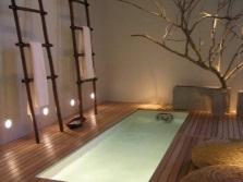 Японская ванная - восточный стиль