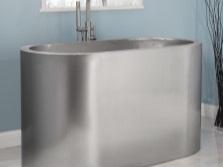 Ванна из нержавеющей стали для ванной
