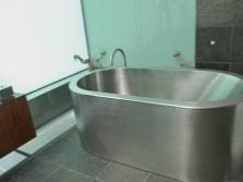 Железная ванна из нержавейки