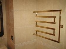 Зигзагоподобный Водяной полотенцесушитель для ванной