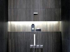 Ниша в стене ванной комнаты - её преимущества