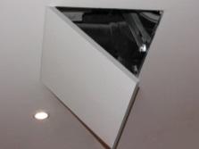 Потолочный ревизионный люк под плитку