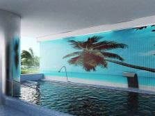 3D-фотоплитка для ванной комнаты или бассейна