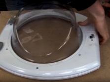 Разборка люка от стиральной машины