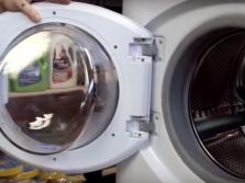 Снятие дверцы стиральной машинки для ремонта
