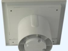 Бесшумный цветной вентилятор для ванной с обратным клапаном- абстракция