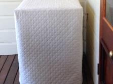 белый чехол для стиральной машины