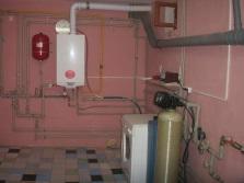 Газовая колонка и система подключения