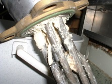 Накипь на ТЭНе водонагревателя