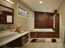 дизайн ванной комнаты с ковриком
