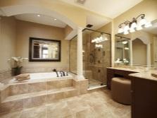 дизайн ванной комнаты большой