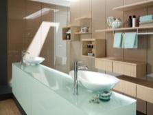 дизайн ванной комнаты - раковины