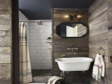 дизайн деревянной ванной комнаты