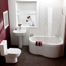 Необычная модель акриловой ванны