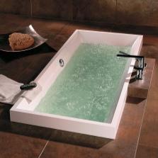 Квариловая ванна с гидромассажем